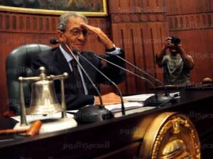 عمرو موسى في الخمسين