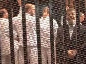 مرسي في القفص