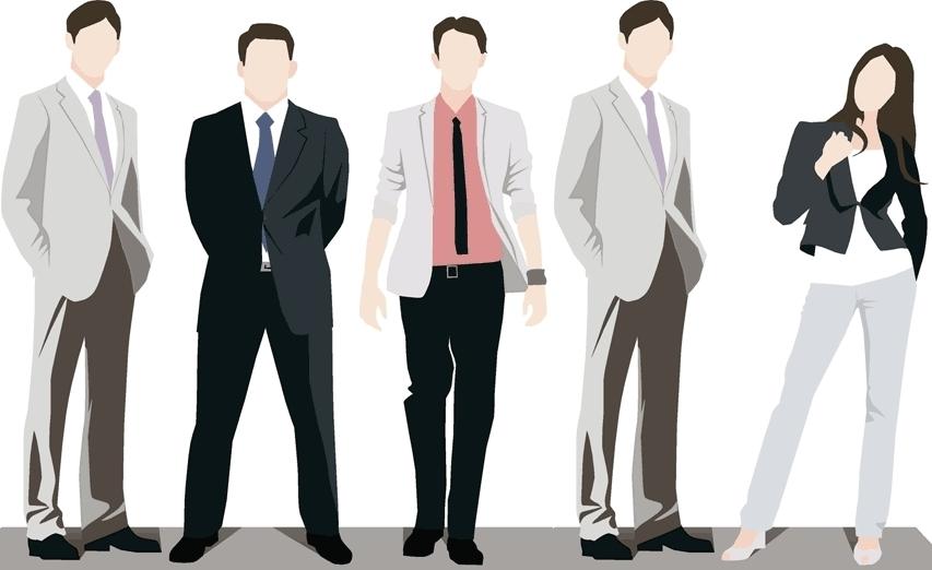 4-men-1-woman