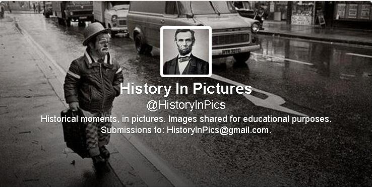 صفحة تاريخ في صور على موقع تويتر