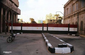 البوابات الجديدة في شارع قصر العيني