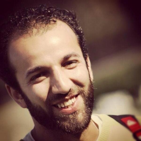 المخرج الشاب محمد رمضان آخر المفقودين في بعد العاصفة الثلجية في سانت كاترين