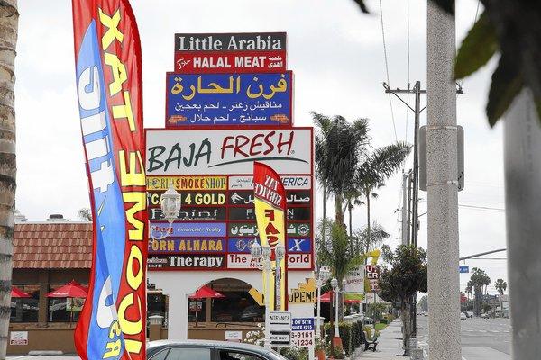 ليست الشام أو بيروت، بل الحي العربي في كاليفورنيا