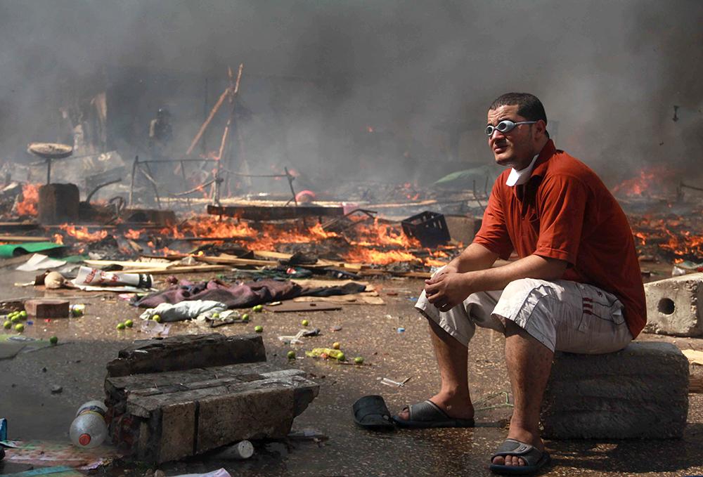 صورة من الواشنطون بوست - عدسة مصعب الشامي