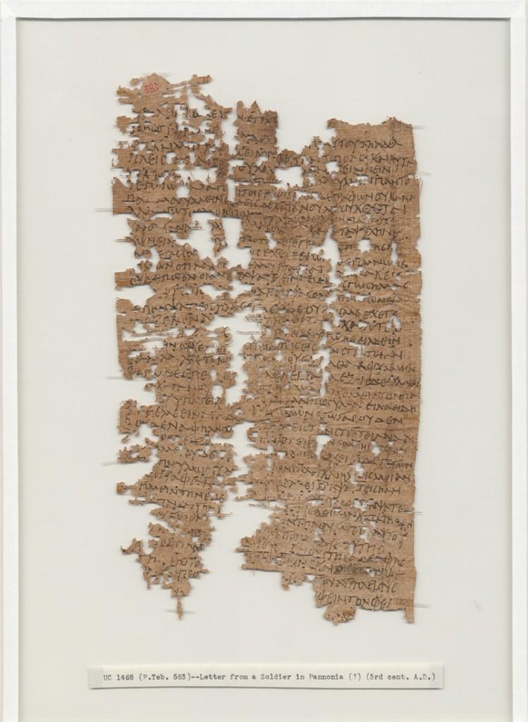 رسالة الجندي المصري أوريليوس بوليون