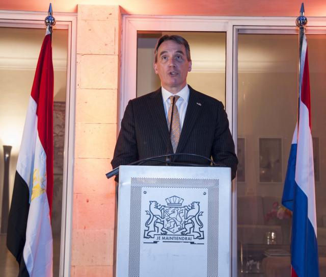 السفير الهولندي خيرارد ستيخس