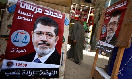 Mohammed Morsi posters