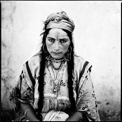 Portrait de femme Algérienne, 1960