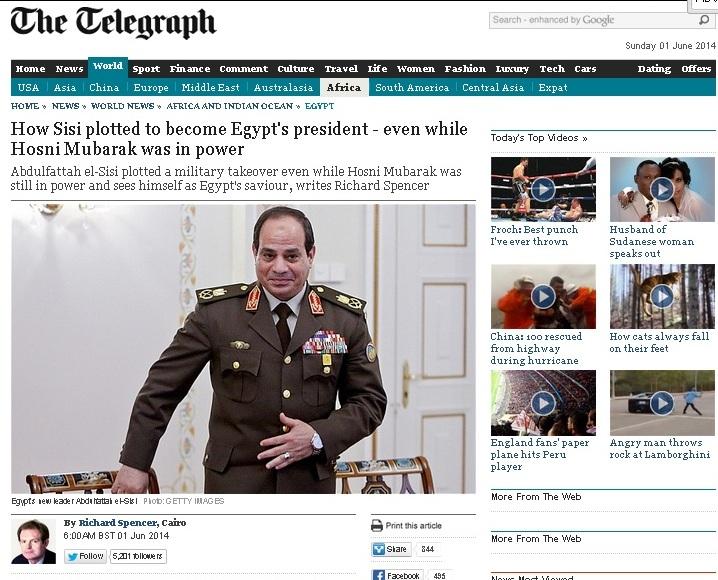 تيليجراف: كيف خطط السيسي للرئاسة حتى قبل سقوط مبارك؟