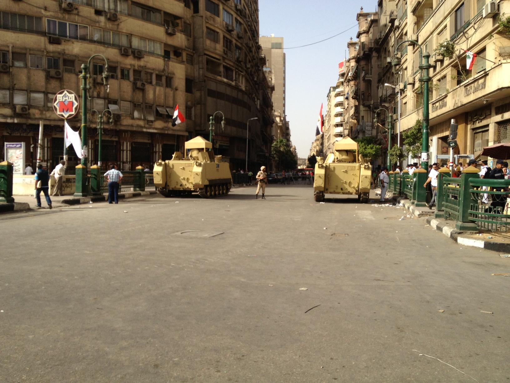 التحرير بعد منع دخول السيارات إليه