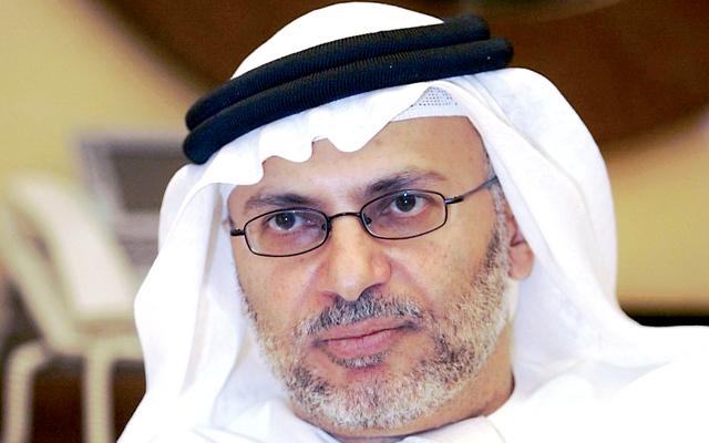 وزير الدولة الإماراتي للشئون الخارجية