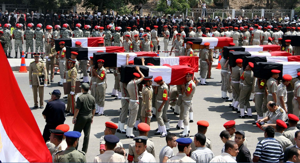 EGYPT-UNREST-SINAI-ARMY-FUNERAL