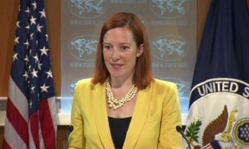ماري هارف المتحدثة باسم الخارجية الأمريكية