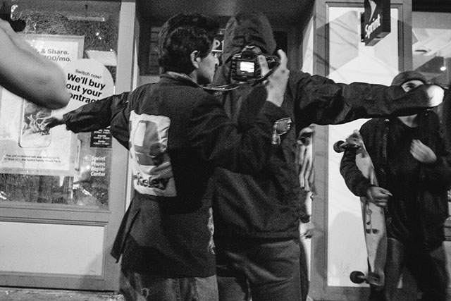 Berkeley Protests: Sunday Night Decemeber 7