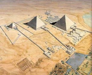 reconstruction-of-the-pyramids-of-Giza-causeways
