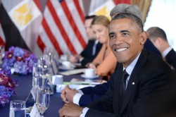U.S. President Barack Obama Attends Bilateral Meeting With Egypt
