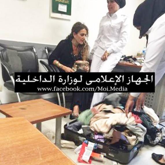 صورة نشرها الجهاز الإعلامي لوزارة الداخلية للمتهمة