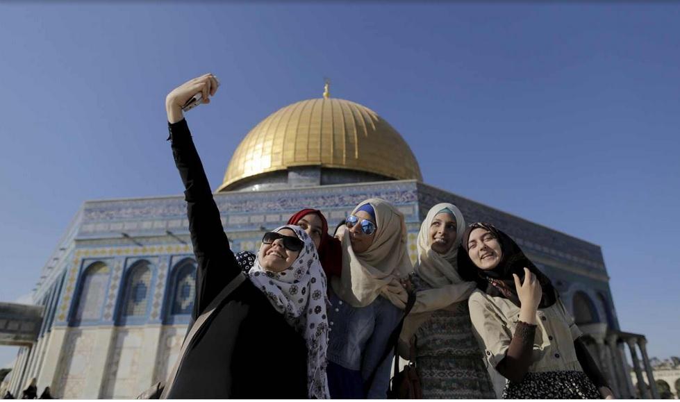 سلفي مع القدس. 29 يونية 2015