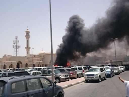 أرشيف من تفجير سابق باسعودية