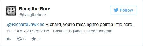 ريتشارد أن تفتقد للفكره قليلاً هنا.