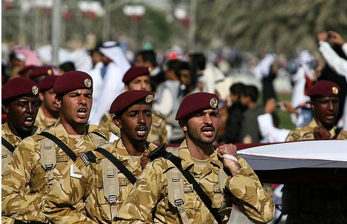 جنود قطريون