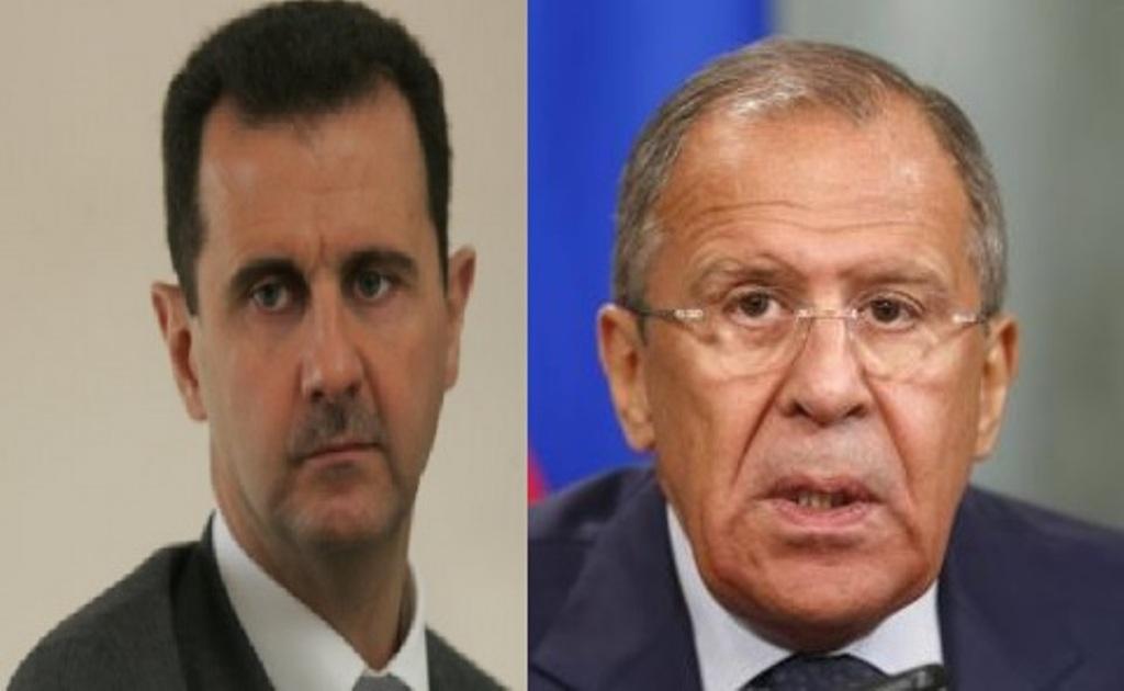 لافروف والأسد