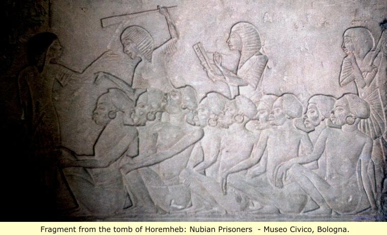 لوحة لأيام الهكسوس من معبد حورمحب