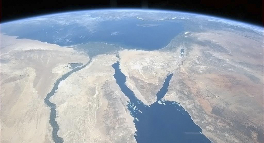 The Nile and the Sinai Peninsula are pictured in this handout photo courtesy of Col. Chris Hadfield of the Canadian Space Agency, who is photographing Earth from the International Space Station, taken on March 20, 2013.  REUTERS/CSA/Col. Chris Hadfield/Handout  (EGYPT - Tags: SCIENCE TECHNOLOGY ENVIRONMENT) FOR EDITORIAL USE ONLY. NOT FOR SALE FOR MARKETING OR ADVERTISING CAMPAIGNS. THIS IMAGE HAS BEEN SUPPLIED BY A THIRD PARTY. IT IS DISTRIBUTED, EXACTLY AS RECEIVED BY REUTERS, AS A SERVICE TO CLIENTS - RTR3F8XJ