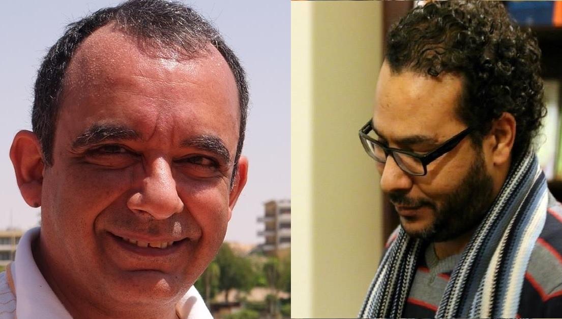 أحمد عبد اللطيف وشريف يونس