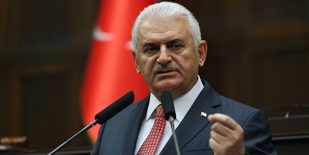 AK Parti Genel Başkanı ve Başbakan Binali Yıldırım, partisinin TBMM'de düzenlenen grup toplantısına katılarak konuşma yaptı. ( Utku Uçrak - Anadolu Ajansı )