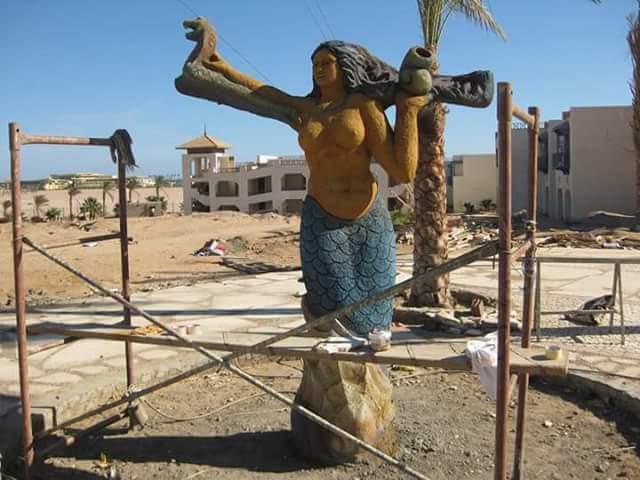 تمثال عروسة البحر بدنشواي