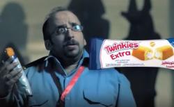 لقطة من إعلان تلفزيوني لأحد منتجات الشركة