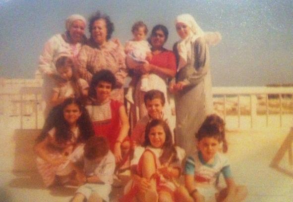 صورة لعائلتي عام 1984