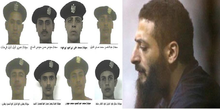 عدد من المجندين ضحايا مذبحة رفح الثانية