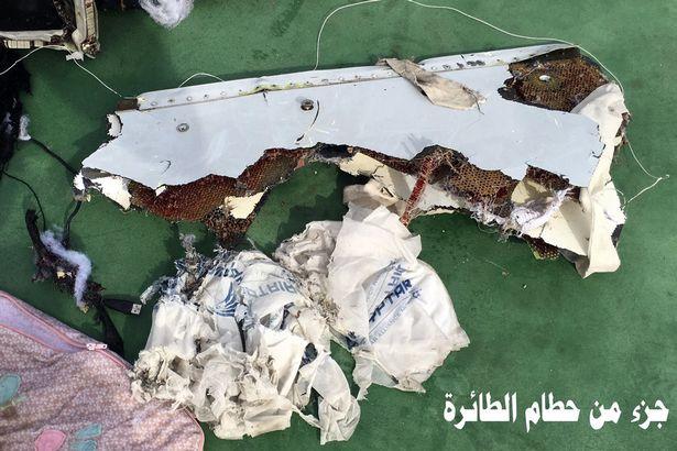Debris-of-the-Egyptair-crash